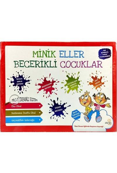 Minik Eller Becerikli Çocuklar Okul Öncesi Eğitim Seti - 5 Yaş
