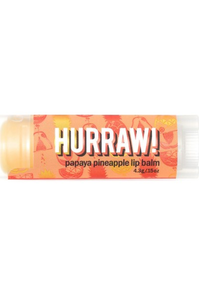 Yes to Hurraw Papaya Ananaslı Dudak Balmı 4.8 gr