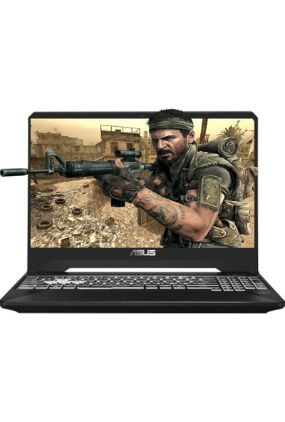 "Asus FX505DT-BQ030A13 AMD Ryzen 7 3750H 32GB 512GB SSD GTX1650 Freedos 15.6"" FHD Taşınabilir Bilgisayar"