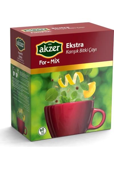 Akzer For-mix Ekstra çay 60 lı
