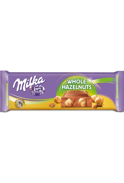 Milka Whole Hazelnuts 270 gr