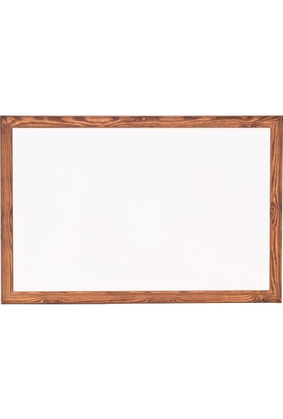 Chalky Beyaz Yazı Tahtası Ahşap Çerçeveli 120 x 210 cm