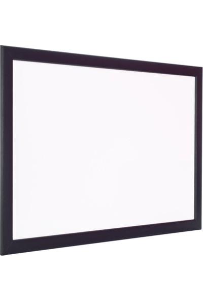 Chalky Beyaz Yazı Tahtası Siyah Çerçeveli 100 x 140 cm