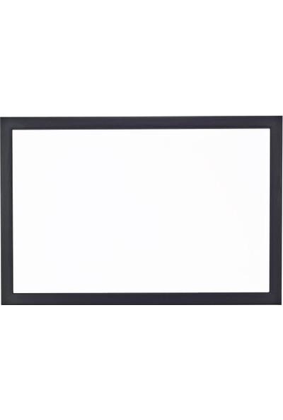 Chalky Beyaz Yazı Tahtası Siyah Çerçeveli 40 x 60 cm