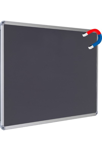 Chalky Manyetik Kara Tahta Tebeşir Yazı Tahtası 30 x 45 cm Siyah