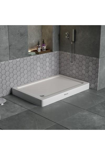 Db Banyo Dikdörtgen Monoblok Duş Teknesi 70X100X11