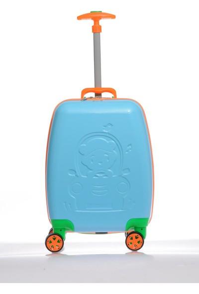 Mybag Mybag84973 Mavi Erkek Çocuk Kabin Boy Valiz
