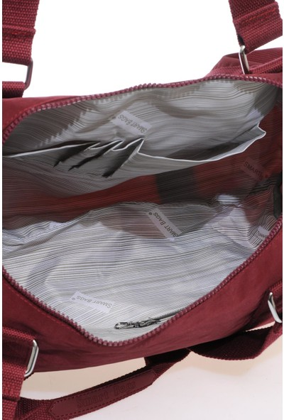 Smart Bags Smb1245-0021 Bordo Kadın Spor Çantası