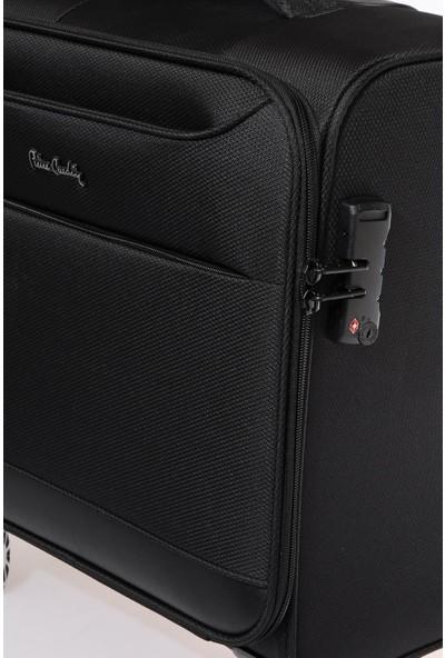 Pıerre Cardın 04Pc004400-S Siyah Unisex Kabin Boy Business Valiz