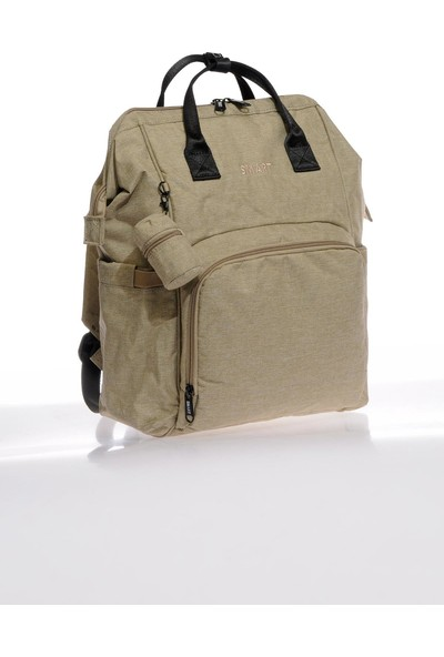 Smart Bags Smb2007-0015 Vizon Kadın Bebek Bakım Sırt Çantası