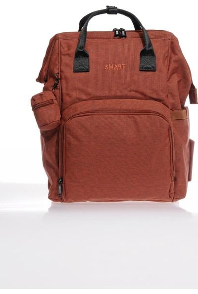 Smart Bags Smb2007-0019 Kırmızı Kadın Bebek Bakım Sırt Çantası
