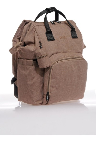 Smart Bags Smb2007-0110 Taba Kadın Bebek Bakım Sırt Çantası