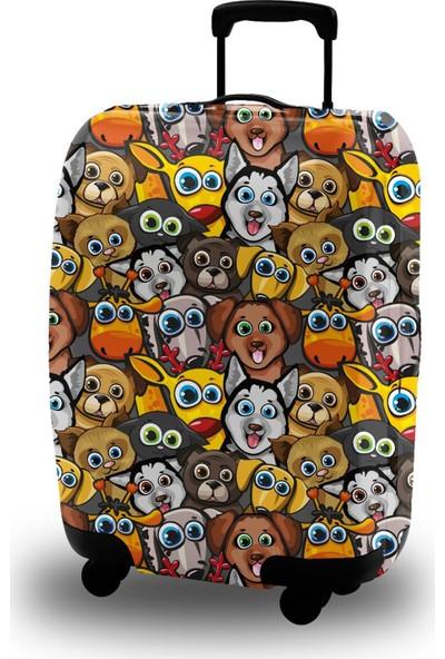 My Bag Mybag Dostlar Dostlar Akıllı Valiz Kılıfı