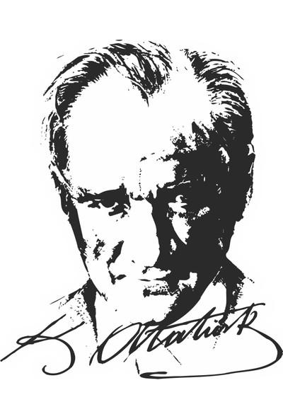 Sticker Fabrikası Atatürk Büyük Türk Başbuğ Sticker 00017
