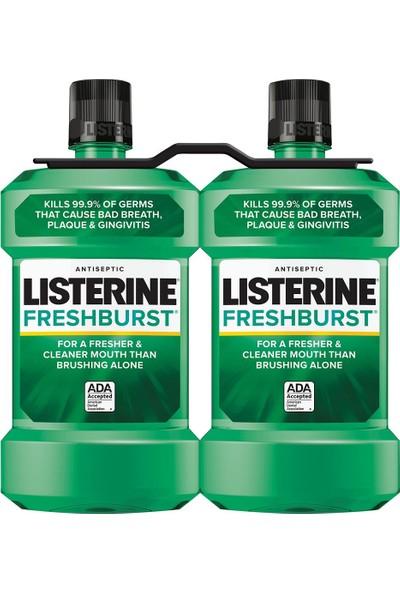 Listerine Fresh Burst Ağız Çalkalama Suyu 500 ml 2 Adet