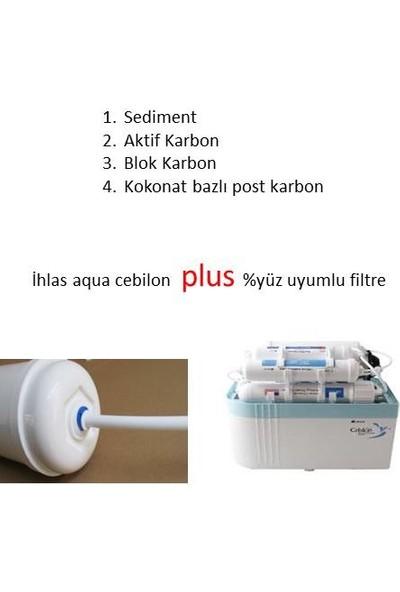Netsu Ihlas Aura Cebilon Plus Filtre 4'lü