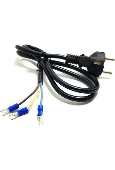 Electroon 220V Açık Uç Power Kablo 1 m