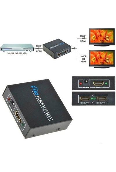 Polotech 2port Full Hd 4K 1x2 HDMI Splitter