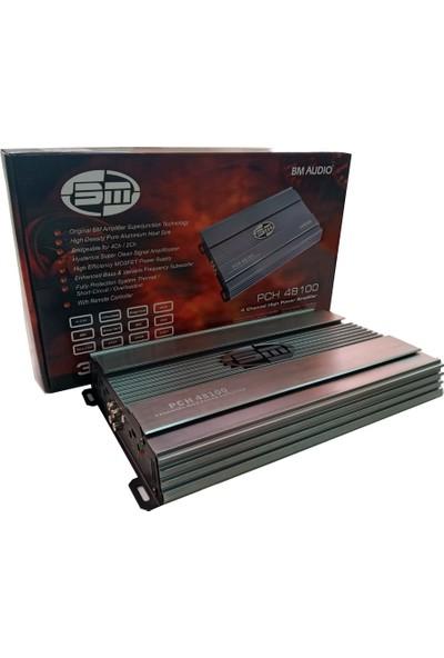 Bm Audio PCH48100 3000W Bass Kontrollü Oto Amfi