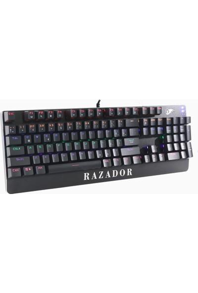 Razador RKB-01 Mechanica USB RGB Aydınlatmalı Q Mekanik Klavye