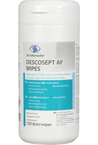Dr.Schumacher Descosept Af Wipes Yüzey İçin Dezenfektanlı Mendil 120'li