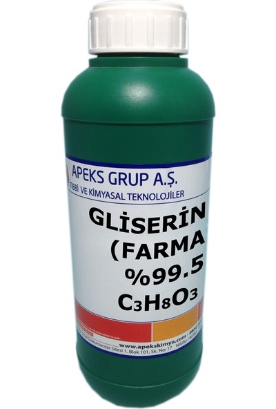 Apeks Gliserin Farma %99.5 C3H8O3 1 kg