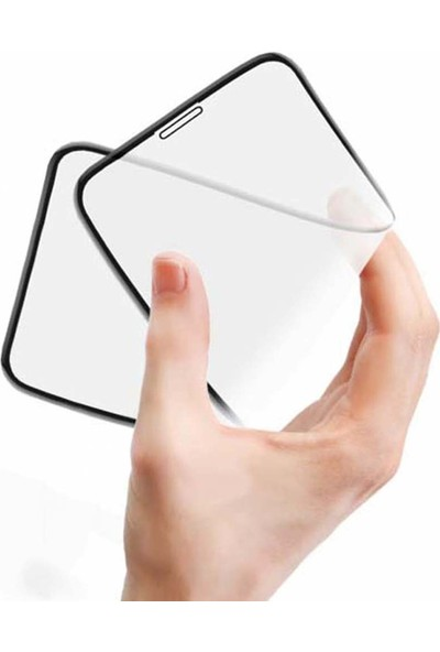 Coverzone Samsung Galaxy S20 5D Nano Glass Flexi Ekran Koruyucu
