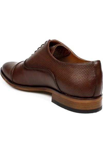 Marcomen 02053-2 Hakiki Deri Klasik Kahverengi Erkek Ayakkabı