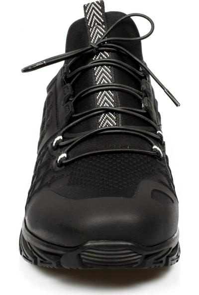 Scootland 11328 Bağlı Strech Siyah Erkek Ayakkabı