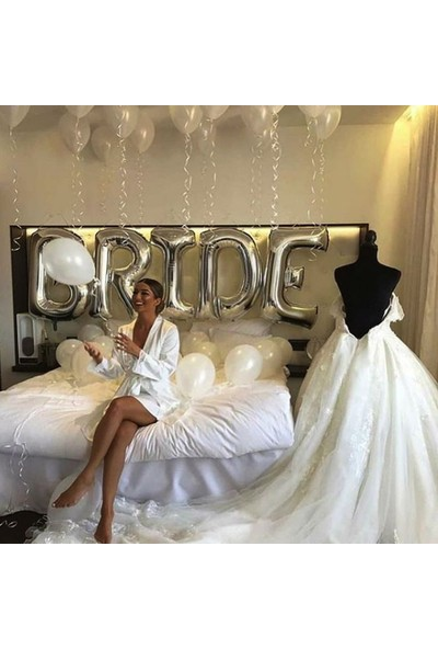 Companero Shop Bride Yazısı ve Balon Seti