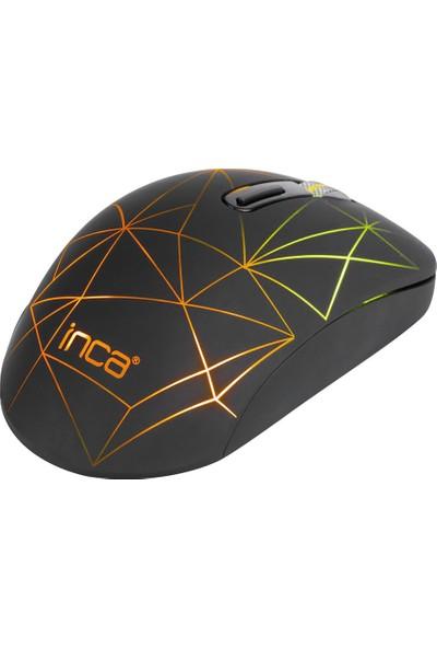 Inca IWM-551 Kablosuz Usb+Type C Şarj Edilebilir 1600 DPI Mouse