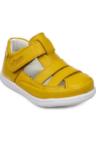 Vicco 918.e20Y.046 İlk Adım Deri Sarı Çocuk Sandalet