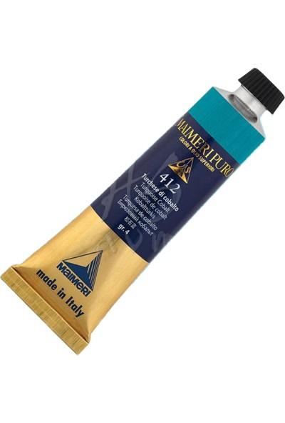 Maimeri Puro Yağlı Boya 40 ml Seri 4 412 Turquoise Cobalt