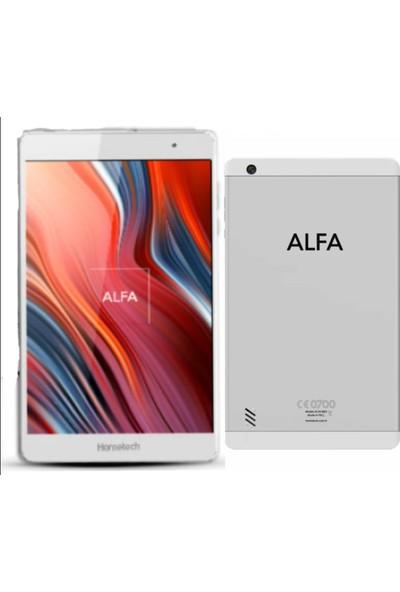 "Hometech Alfa 32GB 8"" Tablet - Beyaz"