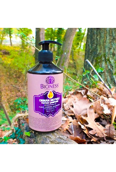 Bioness Orman Meyveli Tuzsuz Şampuan 500 ml