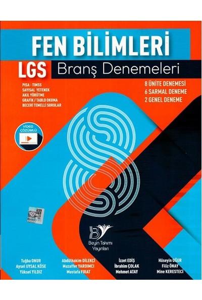 Beyin Takımı Yayınları 8. Sınıf LGS Fen Bilimleri Branş Denemeleri