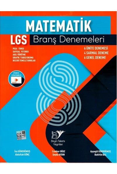 Beyin Takımı Yayınları 8. Sınıf LGS Matematik Branş Denemeleri