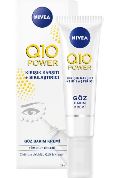 Nivea Q10 Kırışık Karşıtı Göz Bakım Kremi 15 ml