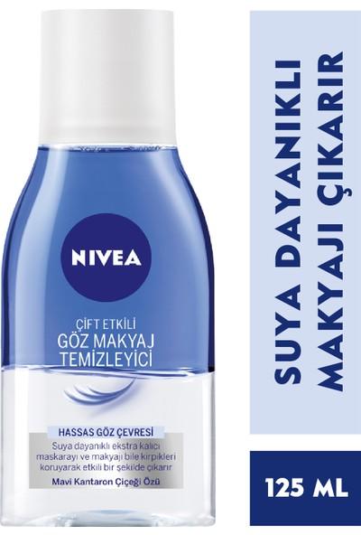 Nivea Çift Etkili Göz Makyaj Temizleme Losyonu 125Ml