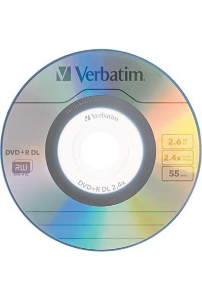 Verbatim 8 cm Mini DVD+R DL 5'li