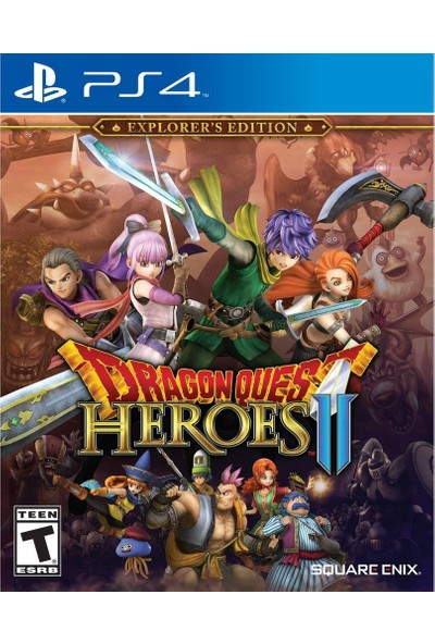 Dragon Quest Heroes 2 Explorer's Edition PS4 Oyun