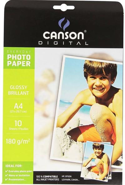 Canson Glossy A4 Fotoğraf Kağıdı 20'li (180 gr.)