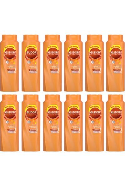 Elidor Anında Onarıcı Bakım Saç Bakım Şampuanı 650 ml 12 Adet