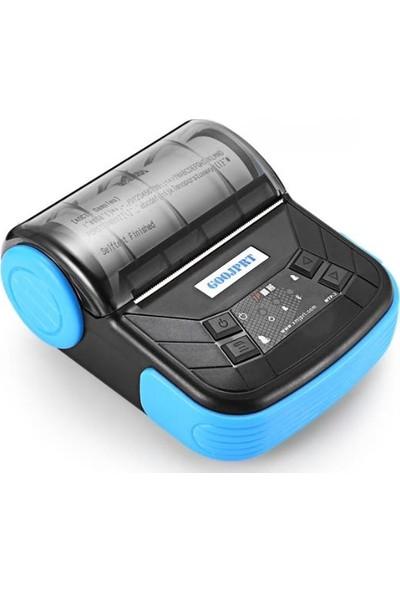 Goojprt MTP-3 Kablosuz Bluetooth Termal Barkod Yazıcı 80 mm