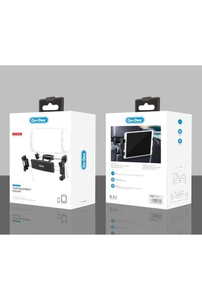 Go-Des GD-HD680 Araç Arka Koltuk Arkası Telefon Tablet Tutucu
