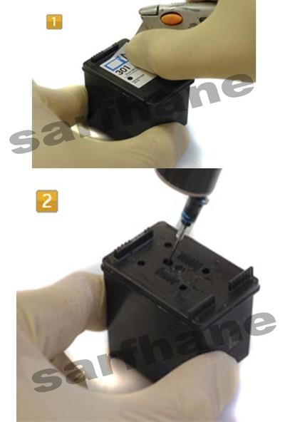 Ekoset HP 304 HP 302 HP 301 HP 650 HP 652 HP 651 Kartuş Dolum Seti 4 Renk