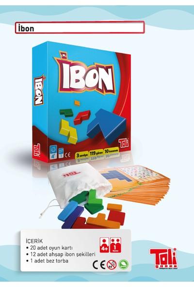 Toli Games Ibon Ahşap Şekil Zeka Oyunu