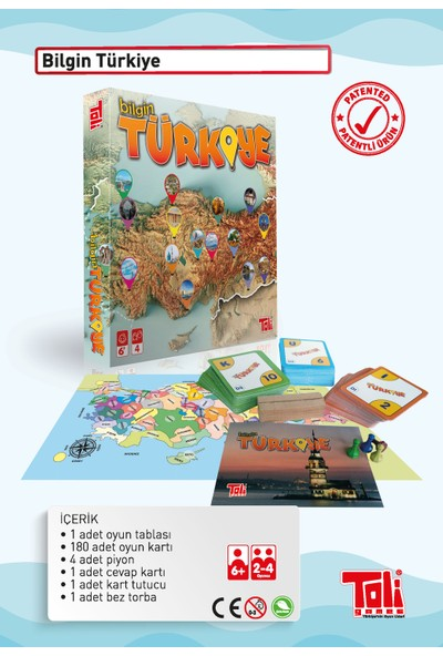 Toli Games Bilgin Türkiye Zeka Oyunu