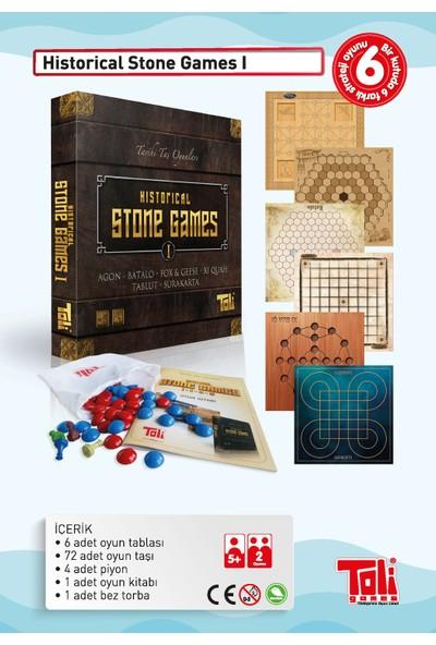 Toli Games Historical Stone Games-1 (Tarihi Taş Zeka Oyunu)