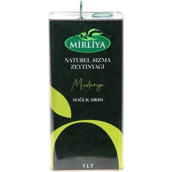 Mirliya Naturel Sızma Zeytinyağı 5 lt